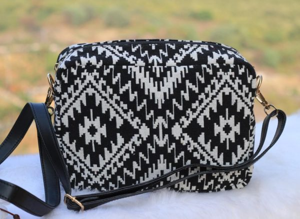 Black Boho Sling Bag - BW159sb