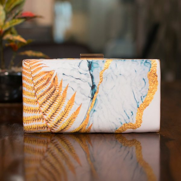 Abstract Print Women Clutch - IL46pc